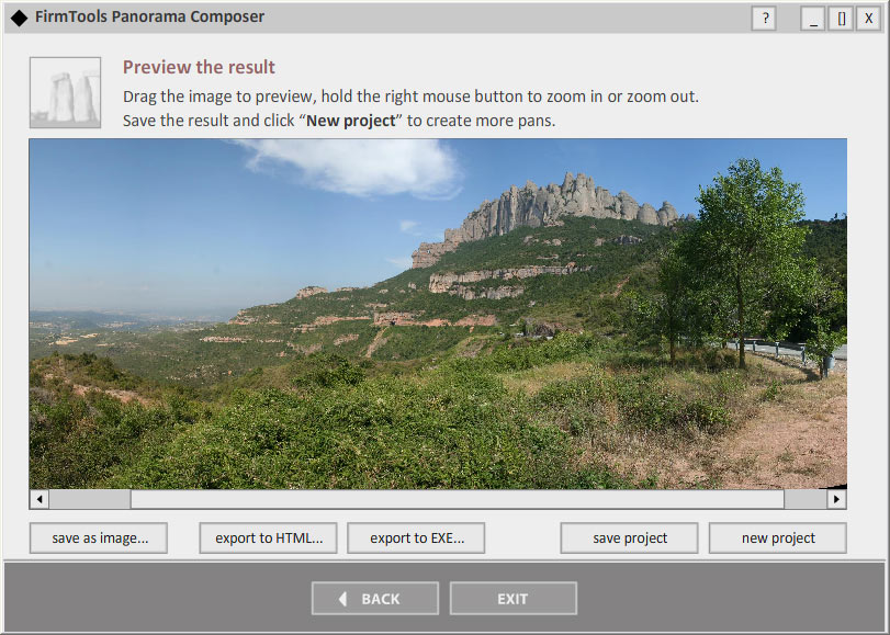 Click to view FirmTools Panorama Composer screenshots