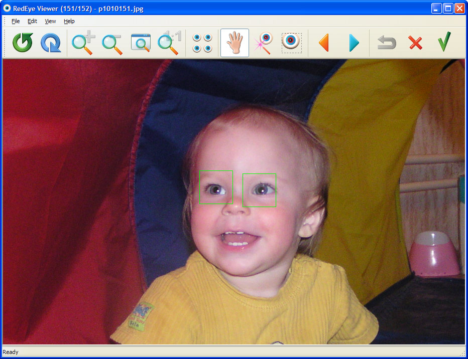 Screenshot of FirmTools RedEyeBot